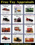 Buddy L Truck Identification, Antique Toy Prices,  Vintage Tin Toy Value Guide Buddy L Museum buying antique buddy l trucks, vintage german tin toys, Japanese space toys. Free Toy Appraisal