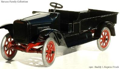 Antique Pressed Steel Model Cars - Collector Information